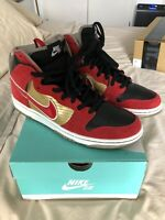 NIKE DUNK SB HIGH TECATE BEER VNDS 100% AUTHENTIC 305050-701 GREAT COND. V RARE!