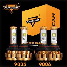 9005+9006 CREE LED Headlight for Chevy Silverado 1500 2500HD 3500 99-06 AUXBEAM