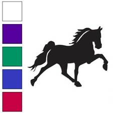Horse Trotting Decal Sticker Choose Color + Size #889