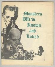 Monsters We've Known and Loved VG Super Rare