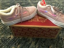 Vans: New weatherized violet ice sizes (11 & 12) children's shoes available