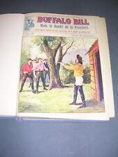 Buffalo Bill Le héros du far-west 1927 Fascicules 26 à 50 reliure éditeur