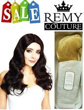HONEY WIG Hair Couture Col 613 100% Human Hair Sleek Mono filament 4 Any Event