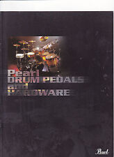 VINTAGE MUSICAL INSTRUMENT CATALOG #10590 - 2001  PEARL DRUM PEDALS/HARDWARE