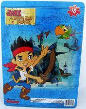 Disney Junior JAKE AND THE NEVERLAND PIRATES 16 PC Pirate Puzzle Preschool NEW