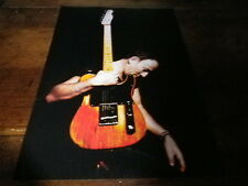 BRUCE SPRINGSTEEN - Mini poster couleurs 4 recto verso !!!!!!!!!!!!!!!