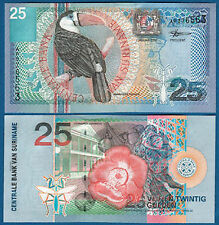 SURINAM / SURINAME 25 Gulden 2000 UNC P.148