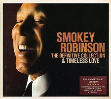 50th Anniversary Collection-Smokey Robinson NEW SEALED EU CD, Oct-2006, 2 Discs