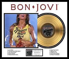 BON JOVI SLIPPERY WHEN WET GOLDENE SCHALLPLATTE LP20002