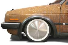 4x Felgenringe Weißwandringe schwarz weiß 14 Zoll MERCEDES OPEL KADETT VW Karman