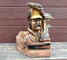 "Limited Edition Mill Creek Stephen Herrero ""Drake"" Duck Hunter Sculpture"