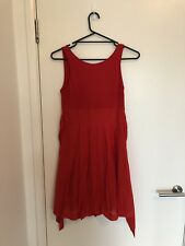 Friends of Couture Red Dress Size 8 #eBayMarket