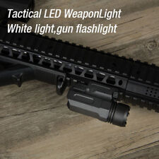 Tactical Sight Cree LED Flashlight with 20mm Rail for Glock 17 19 21 22 23