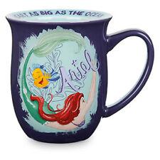 DISNEY STORE ARIEL FLOUNDER 16 OZ Coffee Tea Story Mug New THE LITTLE MERMAID