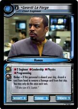 Star Trek CCG 2E Premiere Geordi La Forge, Chief Engineer 1R263