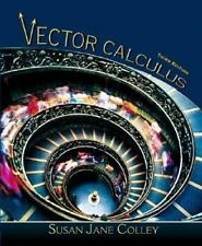 Vector Calculus by Susan Jane Colley (2005, Hardcover)