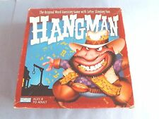 """""""HANGMAN"""" 2-PERSON 2-BOARDS GAME=LETTER WORD GUESSING, 2003, PARKER BROS-100%!"""