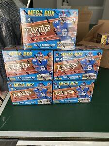 NEW! 2021 PRESTIGE Football NFL MEGA BOX! SEALED!