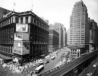 "1936 Herald Square, Manhattan, NYC, NY Old Photo 8.5"" x 11"" Reprint"