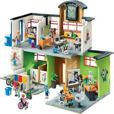 Playmobil City Life Furnished School Building Kids Play 9453 NEW SAME DAY SHIP