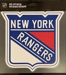 "New York Rangers Classic 8""x8"" Die Cut Decal NHL Logo Vibrant Sticker Decor NEW"