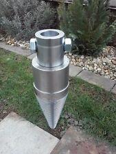 120 mm Drillkegel Kegelspalter für 3T Rotator, oder Erdbohrer mit 50 mm Aufname
