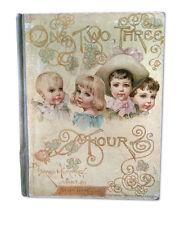 Maud Humphrey, Helen Gray Cone, ONE, TWO, THREE, FOUR, 1889, 1st Ed, chromos