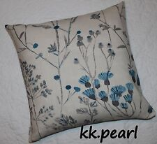 "Modern Contemporary Retro Cushion Cover John Lewis ""Lara"" Fabric / Seedheads 18"""