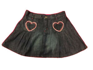 Discontinued Denim Jeans skirt Crazy 8 Girls size 10