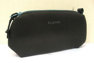 Elemis Soft Black  Travel/Wash Bag New