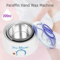 200ml Paraffin Waxing Heater Wax Warmer Pot Hair Remover Mini Body Spa Salon