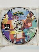 Power Rangers Zeo: Full Tilt Battle Pinball (PlayStation 1) PS1
