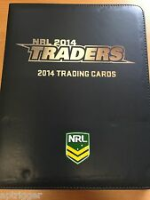 2014 NRL Traders ALBUM and 30 x 9 Pocket Pages