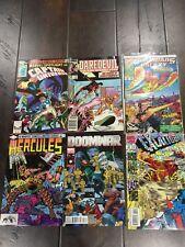Marvel Comic Book Lot 6 Captain Universe Daredevil Guardians Galaxy Doom + More