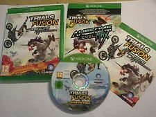 XBOX ONE TRIALS FUSION THE AWESOME MAX EDITION COMPLETE DISC V.GOOD CONDITION