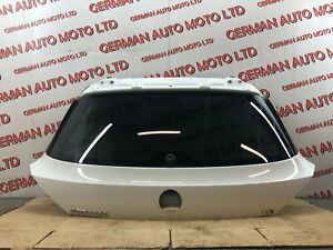 VW SCIROCCO 2016 TAILGATE / BOOTLID ON WHITE LC9A