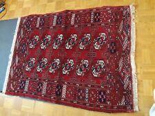 TAPPETO Rosso Tappeti orientali veri persiano 106cm x 142cm Tepich Carpet Persian