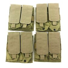 NEW Eagle Industries Khaki Double Mag Pouch, 2 x 2 Magazine SFLCS, 4 PACK