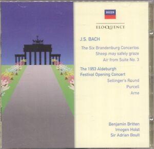 Bach - Brandenburg 1, 2, 5, 6 CD Brand New