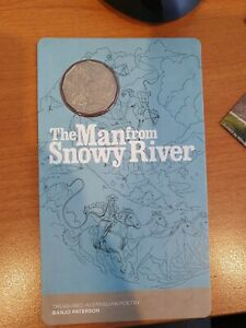 2020 Banjo Paterson - Man from Snowy River 50cent coin on card 20000 Mintage