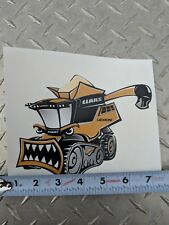 "CLAAS FARM EQUIP ""MAD LEX"" COMBINE LEXION DECAL  BRAND NEW LICENSED CAT AGCO"