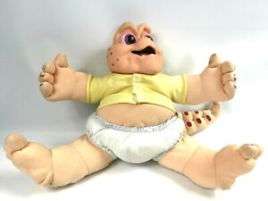 1991 TALKING BABY SINCLAIR Plush Dinosaurs TV Series Disney 7190 *With Issues*