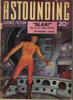 1940 Astounding Science-Fiction October - Theodore Sturgeon; Willy Ley;Very Rare