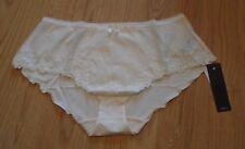 Fantasie Ava 2136 Ivory Fluted Shorts Bridal Lingerie Size Medium BNWT