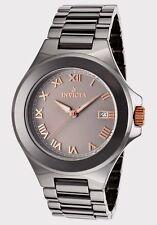 Invicta Ceramic Watch  Model 14578 -Gun Metal tone! 47 MM,