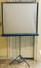 Vintage Da-Lite Movie Projector Screen Tripod 40 X 40