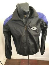 MENS Small Louis Garneau Cycling Zip Front Nylon Jacket with Rear Pocket