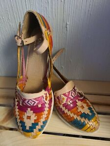 Huaraches Artesanales Mexicanos/ Handmade Traditional Leather Mexican Huaraches