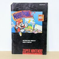 Mario Paint SNES Super Nintendo Instruction Booklet Manual