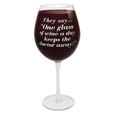 Bigmouth Inc The World's Largest Wine Glass 750ml Birthdays Bachelorettes
